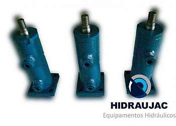 Cilindro hidráulico industrial