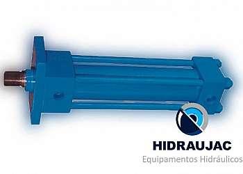 Cilindro hidráulico com sensor