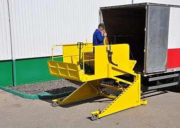 Cilindro hidráulico para plataforma niveladora de docas